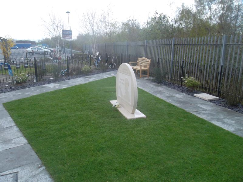 The Jimmy HIll Memorial Garden - Please feel free to water the plants if you are visiting the garden